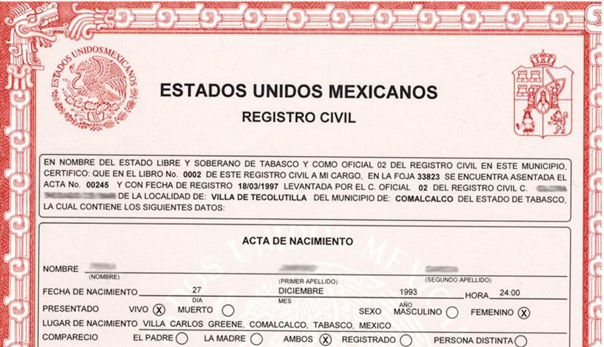 En Querétaro Ya Se Pueden Tramitar Actas De Nacimiento A
