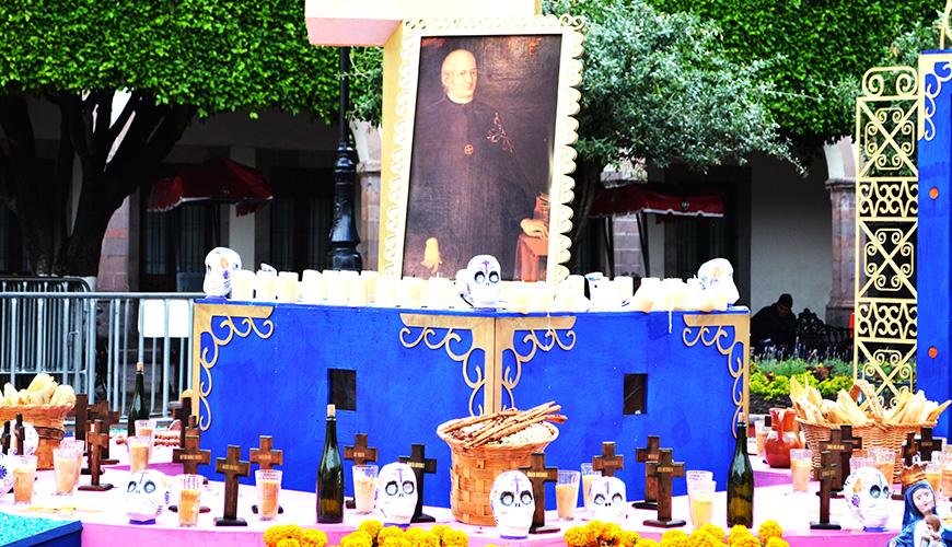 El altar estará en exhibición hasta el 2 de noviembre