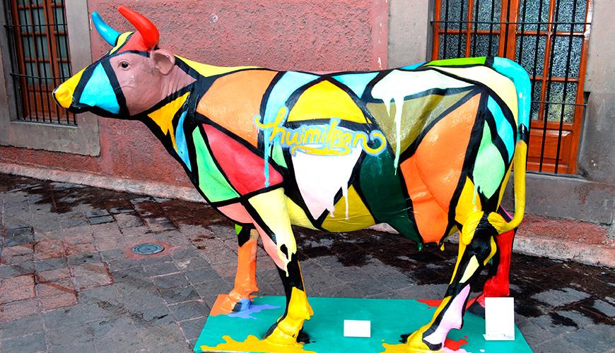 Vaca representativa del municipio de Huimilpan
