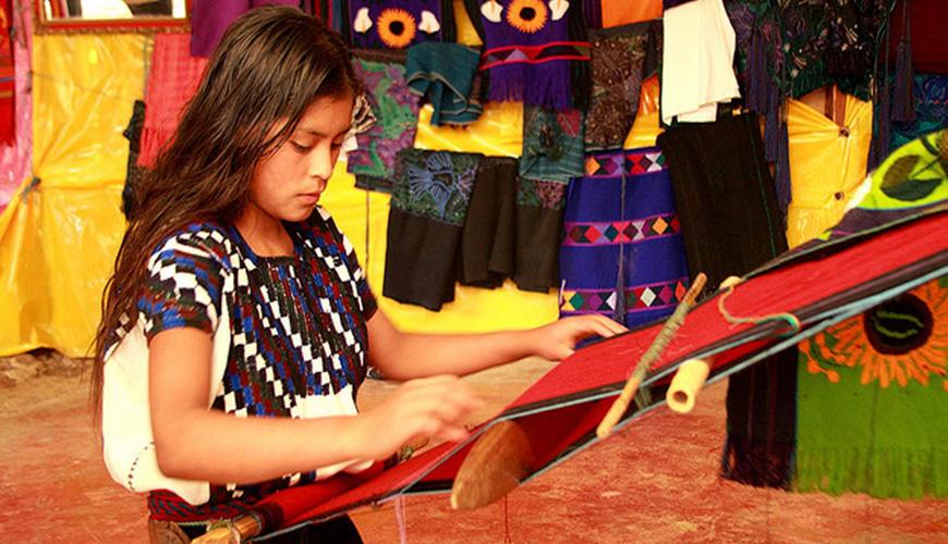 Indígena de Zanacantan, comunidad que está a 10 minutos de San Cristóbal