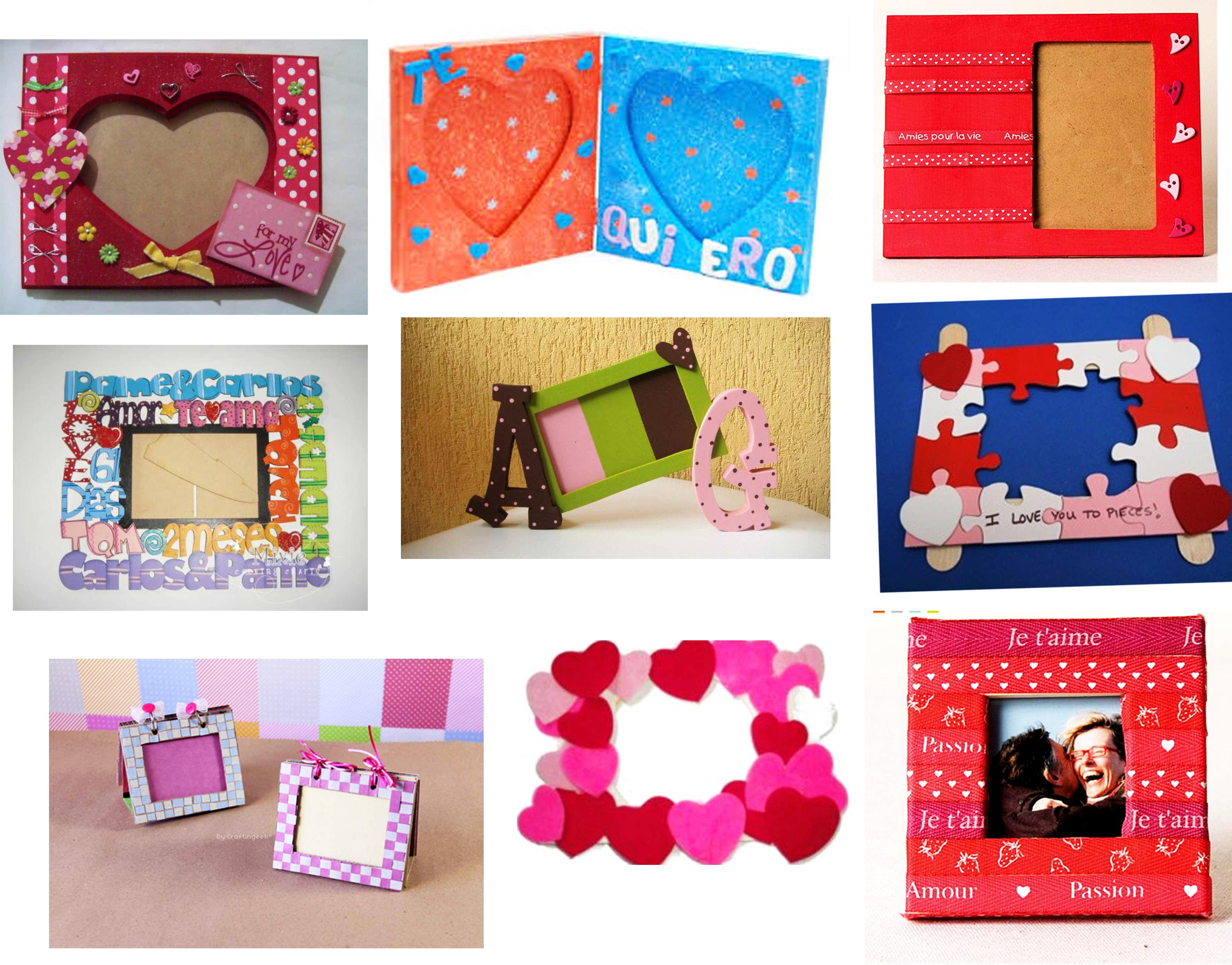 Puedes elegir el que más te guste, sólo basta con comprar una base de portarretrato, pintura, calcomanías, botones, sellos, fieltro y más para decorar como más te guste