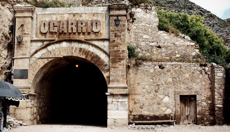 Túnel de Ogarrio, acceso principal al Pueblo Mágico