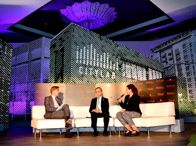 El mandatario capitalino asistió al CityLab 2016 en Florida