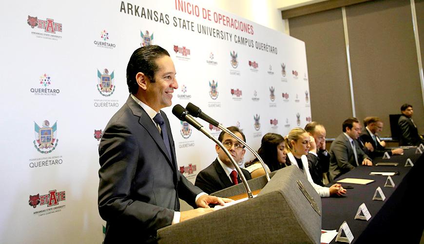 <h1>Inicia operaciones Arkansas State University, campus Querétaro</h1>