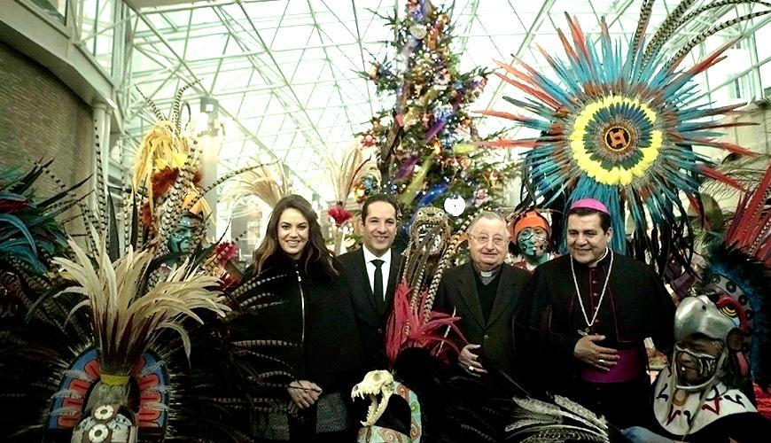 <h1>Inauguran en El Vaticano Nacimiento y Árbol de Navidad elaborados por Artesanos Queretanos</h1>