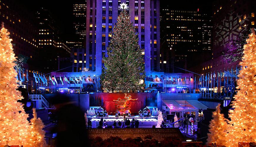 <h1>Centro Rockefeller, el lugar ideal para pasar navidad en Nueva York</h1>