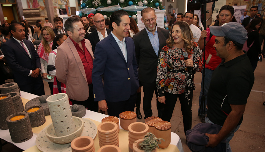 <h1>Presentan FDS marca &#8220;Autentica&#8221; que dará beneficio a 300 artesanos del Estado</h1>