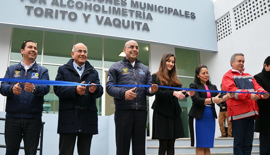 <h1>Se inauguró Centro de Infracciones por Alcoholimetría &#8220;Torito y Vaquita&#8221;</h1>
