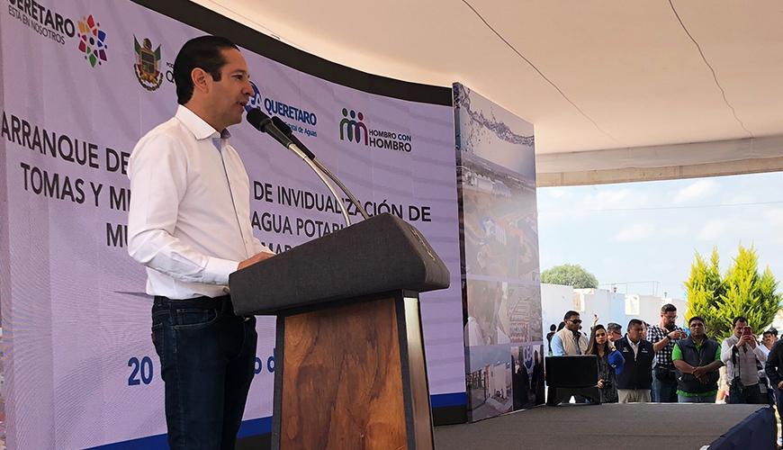 <h1>No sorprende candidatura de ex rector, afirma gobernador Francisco Domínguez</h1>