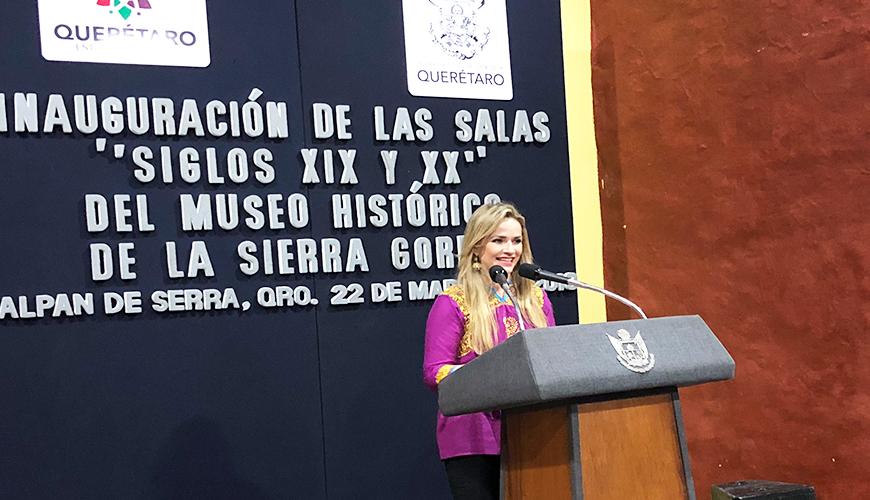 <h1>Inaugura secretaria de Cultura segunda etapa del Museo Histórico de la Sierra Gorda</h1>