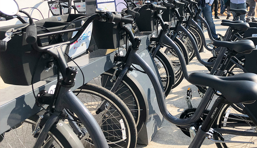 <h1>Van 85 bicicletas dañadas, tres por actos vandálicos: Secretaría de Movilidad</h1>