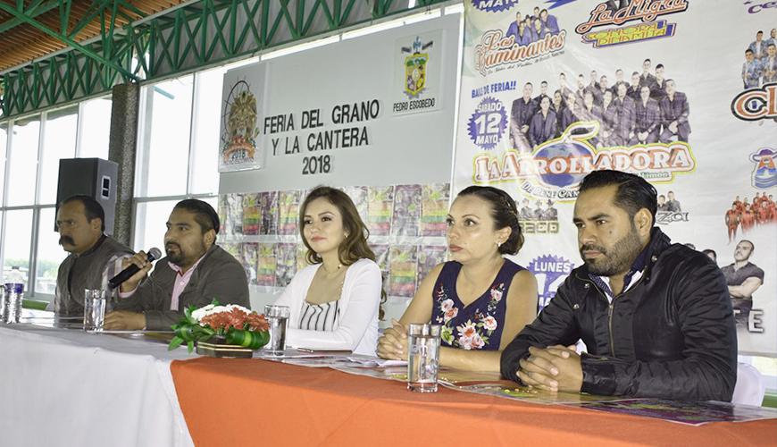 <h1>Pedro Escobedo será sede de la Feria del Grano y la Cantera 2018</h1>