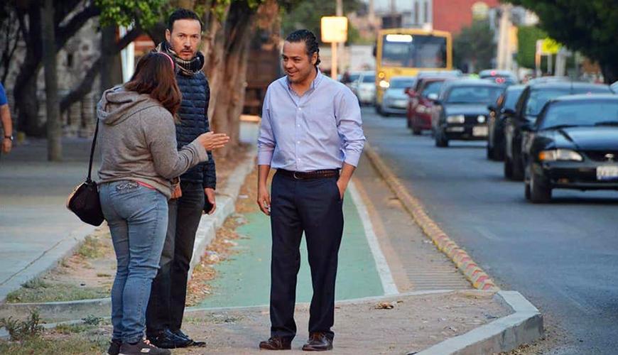 <h1>Supervisa Correa Sada funcionamiento de semáforos inteligentes en la capital</h1>