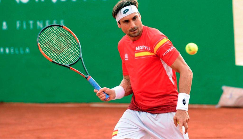 <h1>Ferrer da a España semifinal para Copa Davis</h1>
