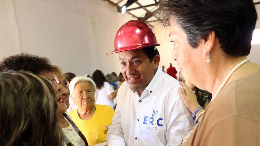 <h1>Presenta Eric Salas propuesta a adultos mayores del primer distrito</h1>