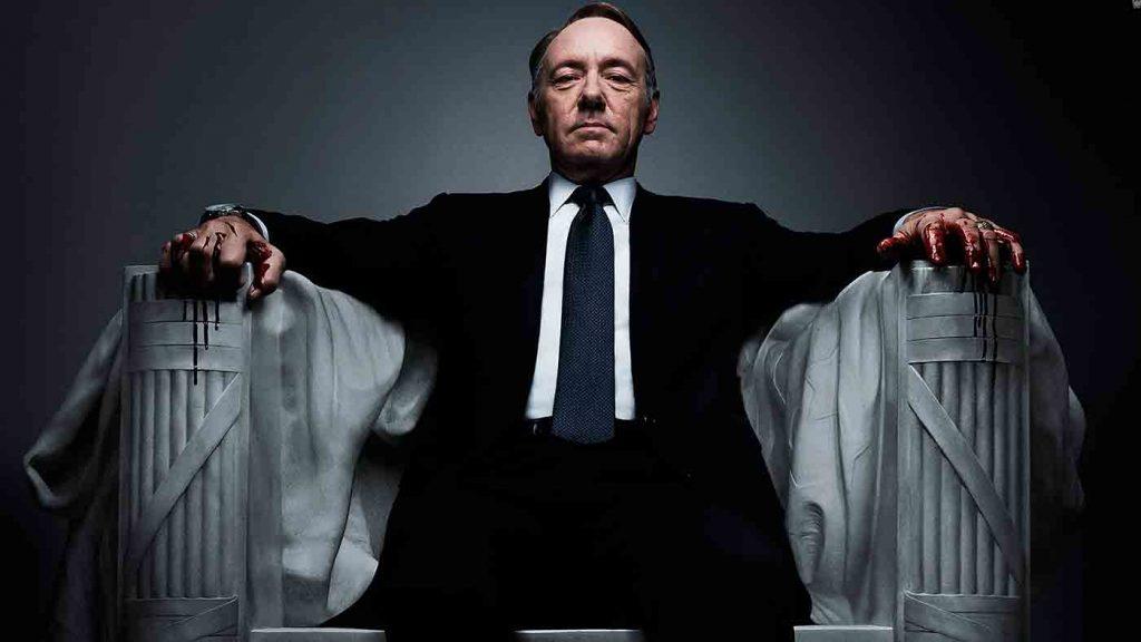 <h1>Revelan imágenes de la última temporada de House of Cards</h1>