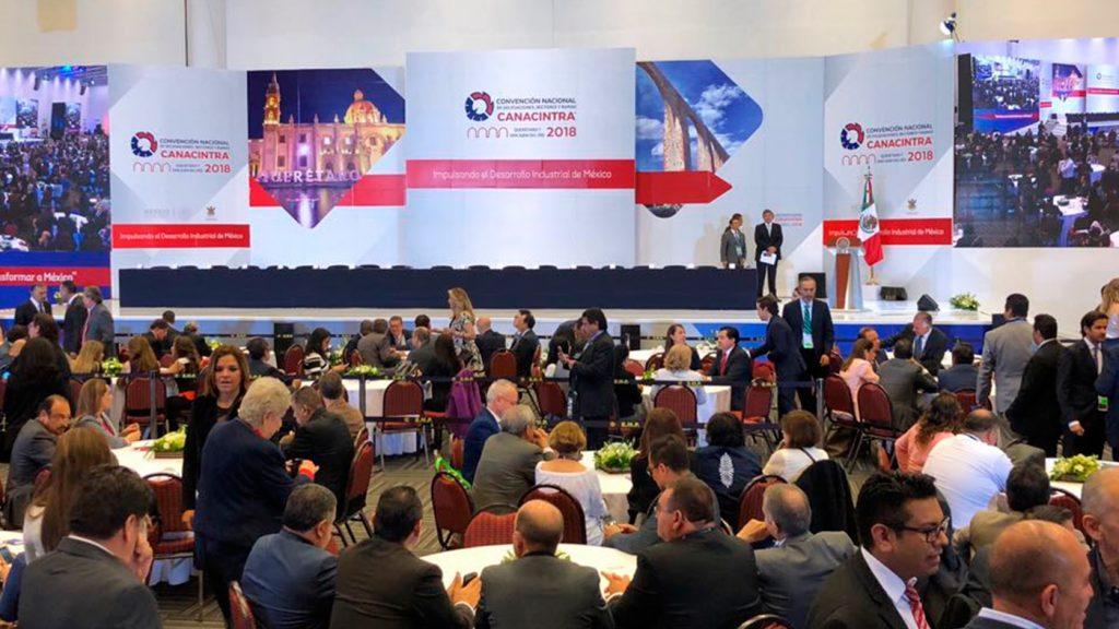 <h1>Querétaro sede de la convención nacional de CANACINTRA 2018</h1>