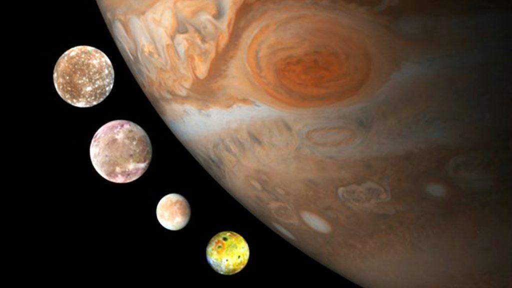<h1>Astrónomos descubren doce nuevas lunas en Júpiter</h1>