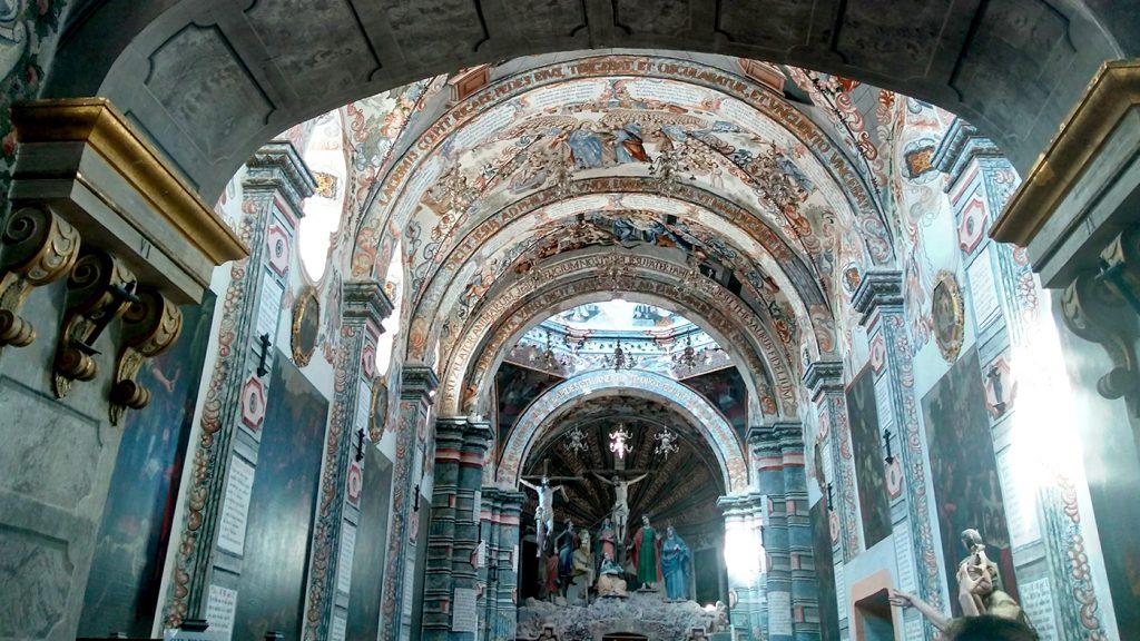<h1>Santuario de Jesús Nazareno, Capilla Sixtina Mexicana</h1>