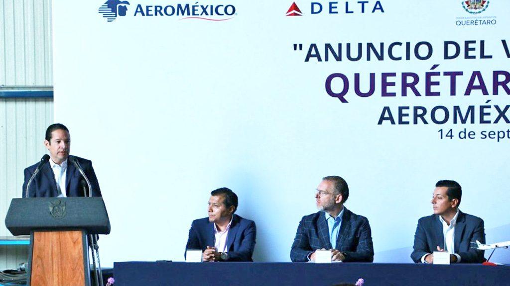 <h1>Anunció AIQ su quinta ruta de vuelo internacional por Aeroméxico-Delta</h1>
