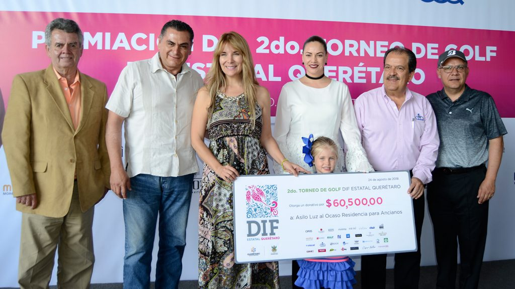 <h1>DIF Estatal lleva a cabo 2do Torneo de Golf en Club Campestre</h1>