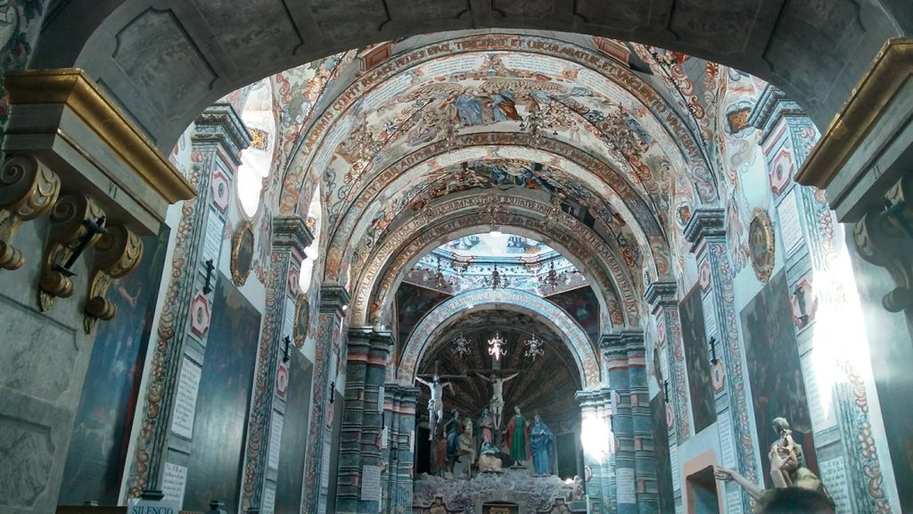 <h1>Santuario de Jesús Nazareno Capilla Sixtina Mexicana</h1>