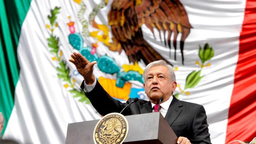 <h1>Andrés Manuel López Obrador Toma Protesta como Presidente de México</h1>