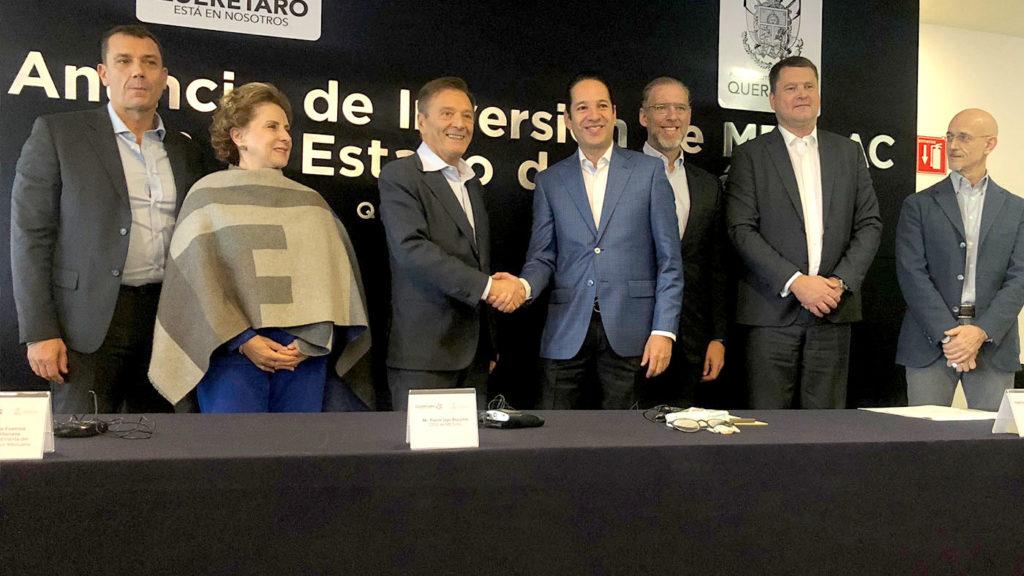 <h1>La Empresa Italiana METLAC Líder en el Sector Químico invierte en Querétaro</h1>