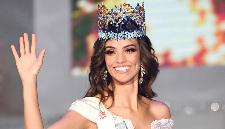 <h1>Vanessa Ponce de León se corona como Miss Mundo 2018</h1>