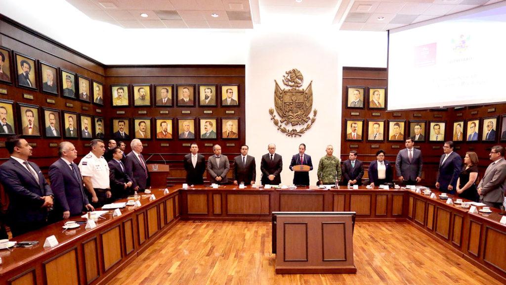 <h1>Querétaro se adhiere al Plan Nacional de Paz y Seguridad con Coordinación Estatal y Regionales</h1>