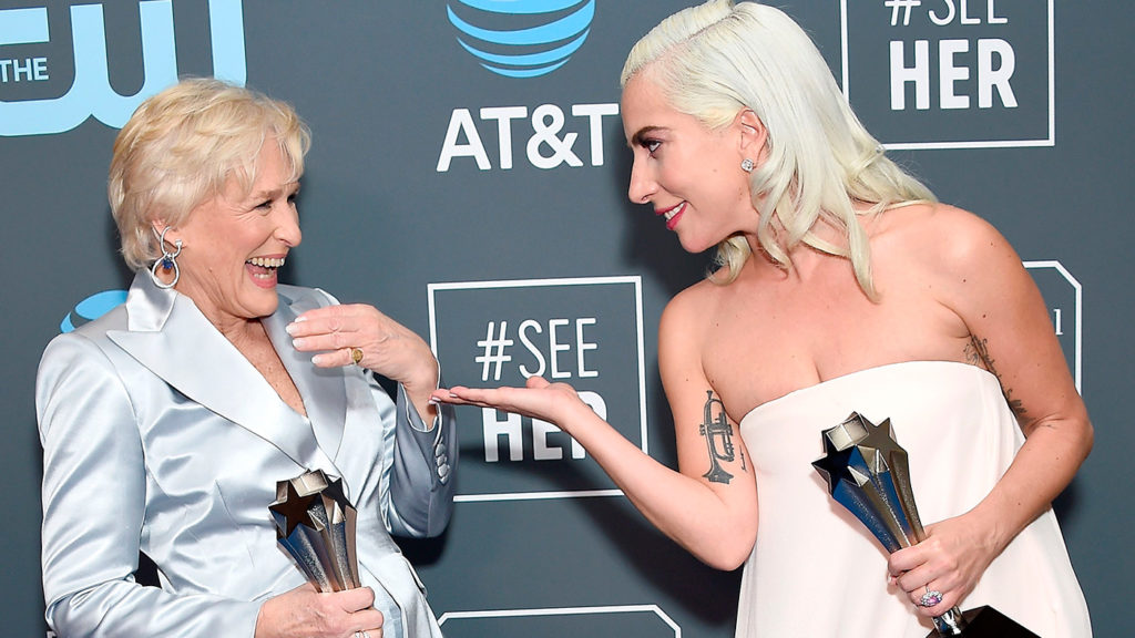<h1>Lady Gaga gana el premio a Mejor Actriz en los Critics&#8217; Choice Awards</h1>