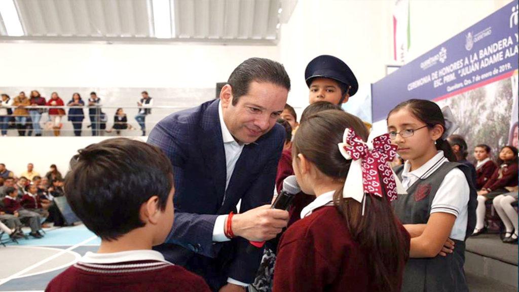 <h1>Francisco Domínguez comienza el año sumando infraestructura educativa</h1>