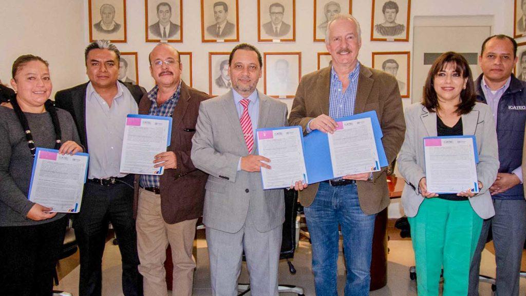 <h1>Municipio de El Marqués y el Icateq firman convenio de colaboración</h1>