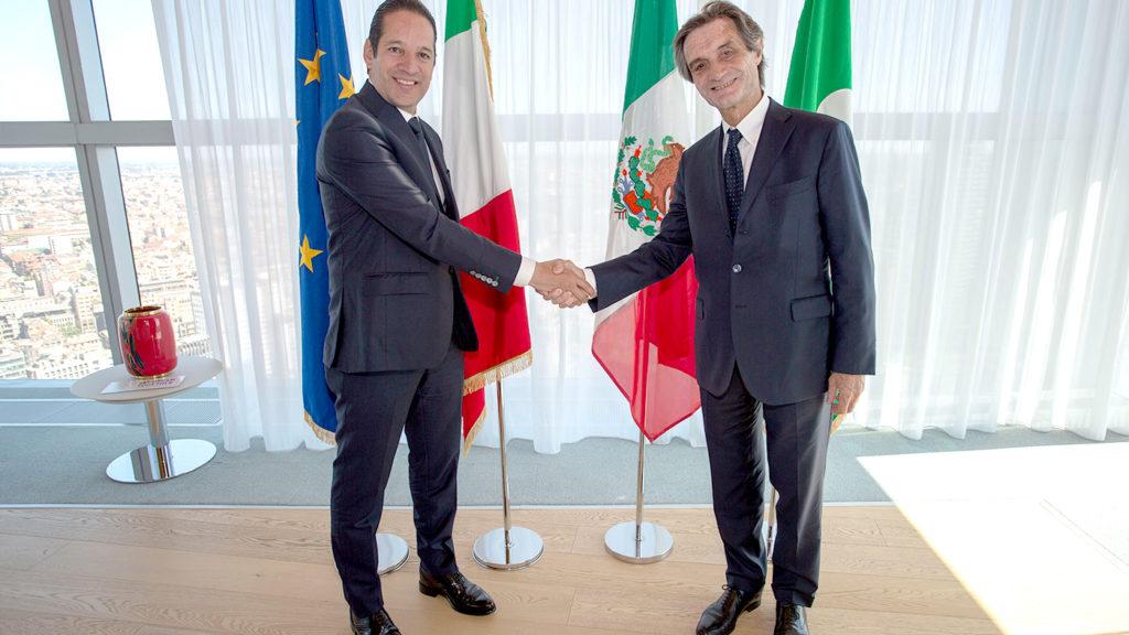 <h1>Delegación queretana encabezada por Francisco Domínguez realiza gira de trabajo por Europa</h1>