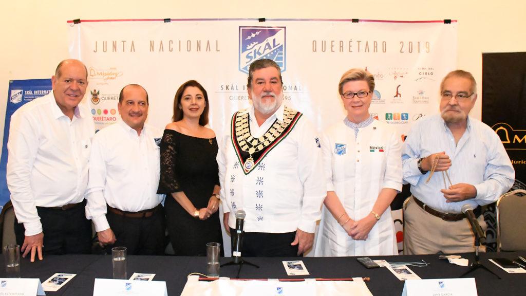<h1>Profesionales del turismo acuden a la Junta Nacional Skal 2019 en Querétaro</h1>