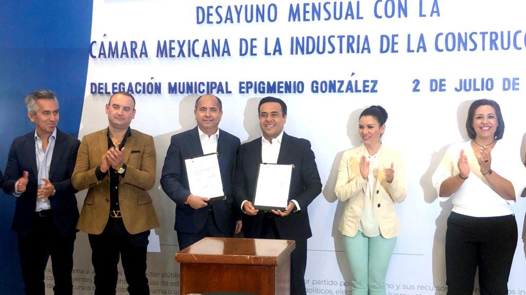 <h1>CMIC y Gobierno Municipal de Querétaro fortalecen alianzas</h1>