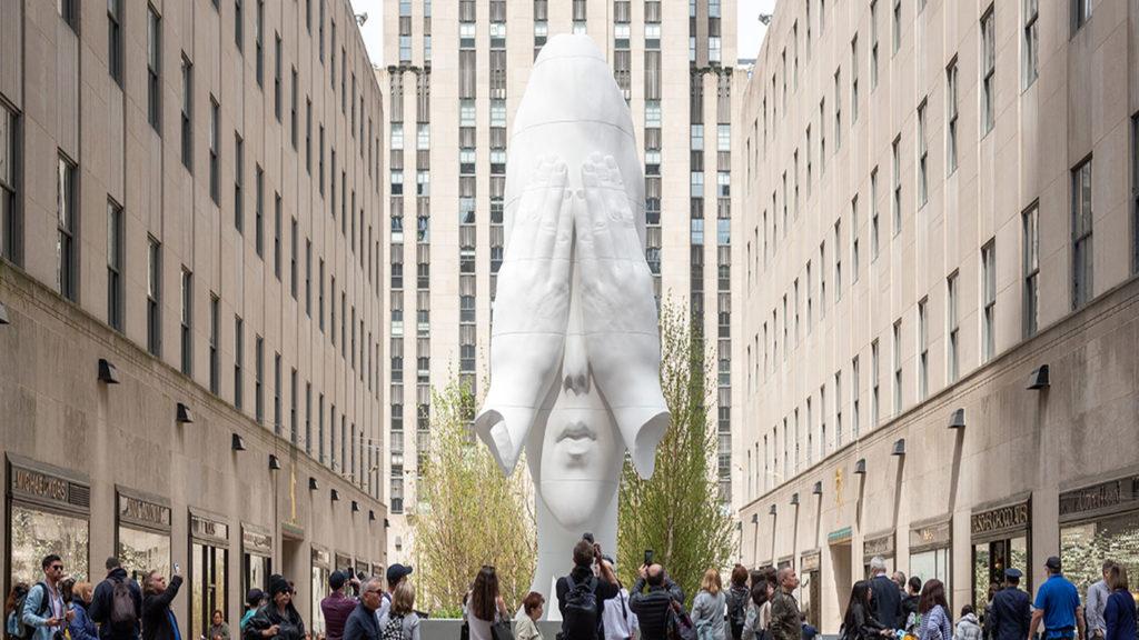 """<h1>Llega al Munal """"Behind the Walls"""", la escultura nómada en contra de los muros</h1>"""