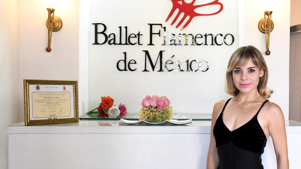 <h1>Daniela Ponce Elizondo, Fundadora de Ballet Flamenco de México</h1>