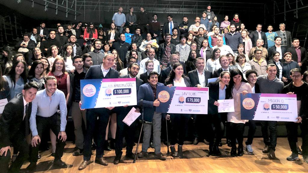 "<h1>SEJUVE premia a jóvenes emprendedores ""Ideas que trascienden"" 2019</h1>"