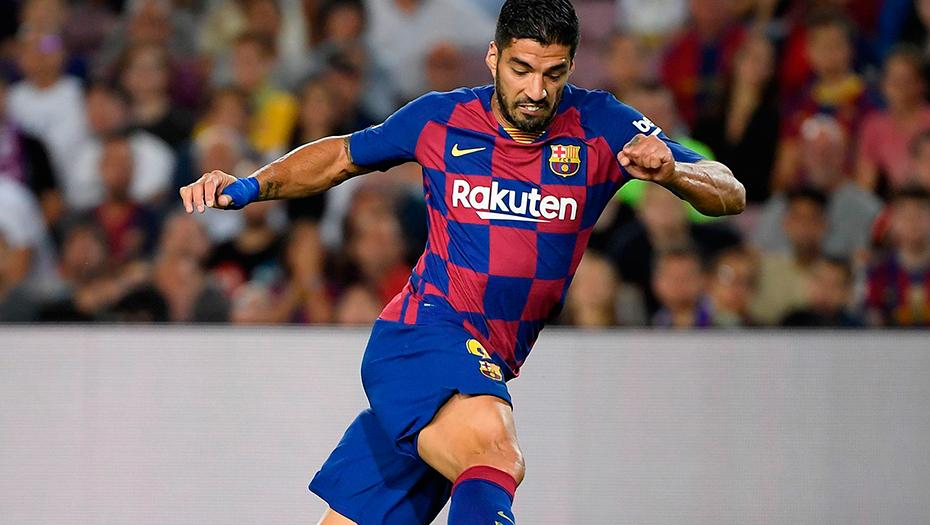 <h1>Suárez tras operación estará fuera del Barcelona</h1>