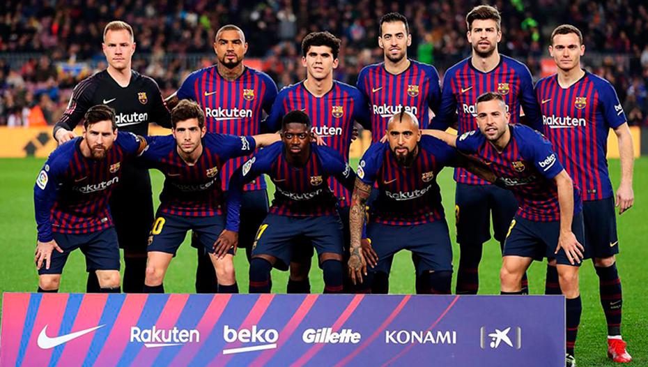 <h1>Estalla guerra entre dirigentes y jugadores del Barcelona</h1>