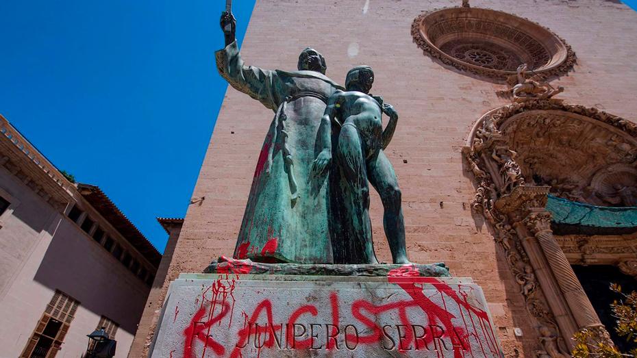 <h1>Buscarán traer de España estatua de Fray Junípero</h1>