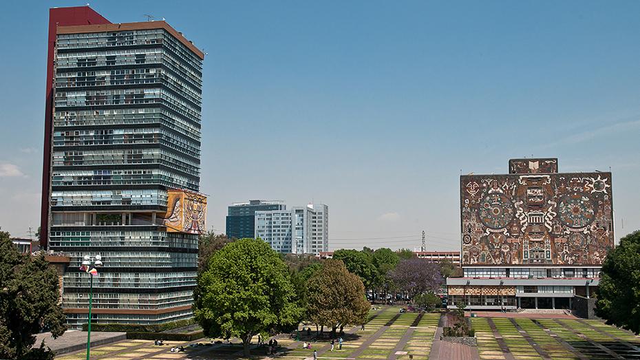 <h1>Ciudad Universitaria, monumento artístico de la nación</h1>