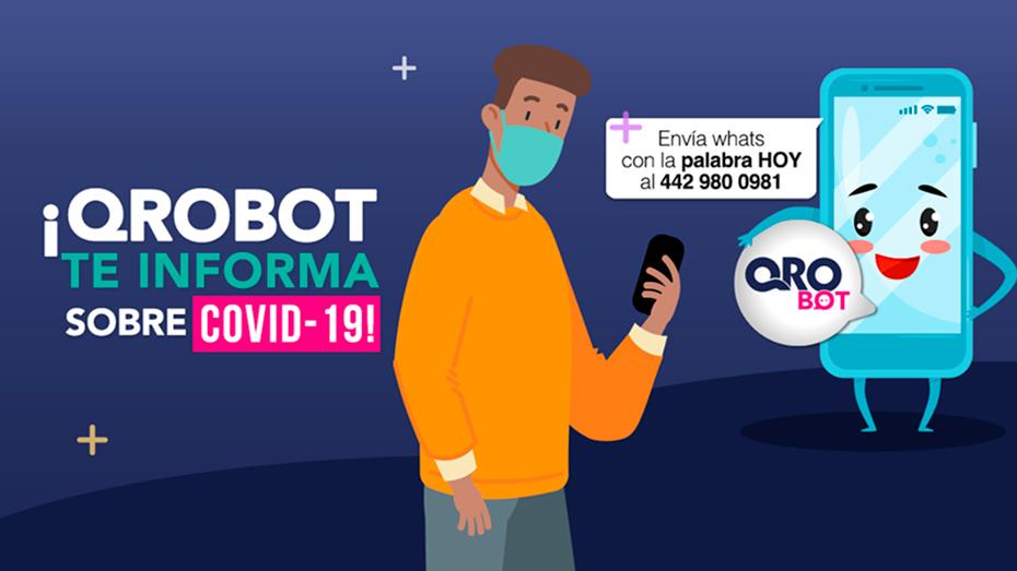 <h1>Gobierno Estatal actualiza información sobre Covid-19 a través de Chatbot</h1>