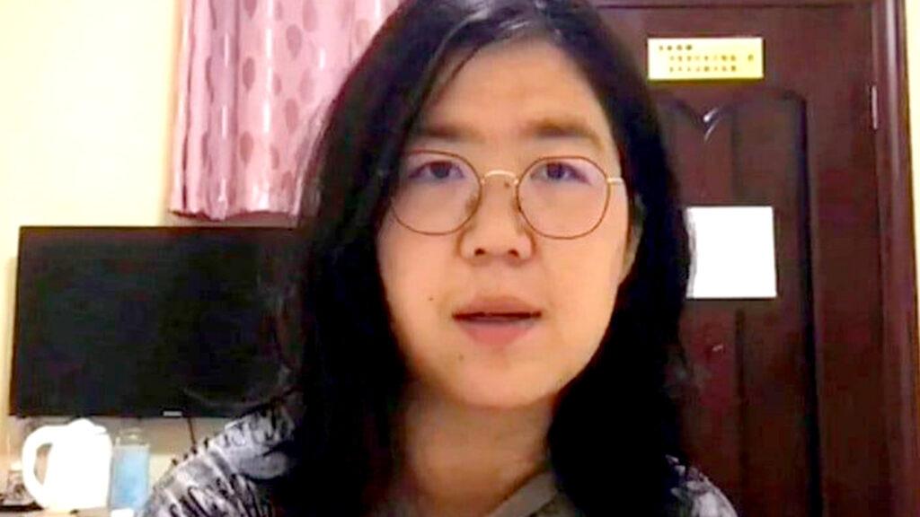 <h1>A cuatro años de cárcel es condenada la periodista que cubrió el inicio del coronavirus</h1>
