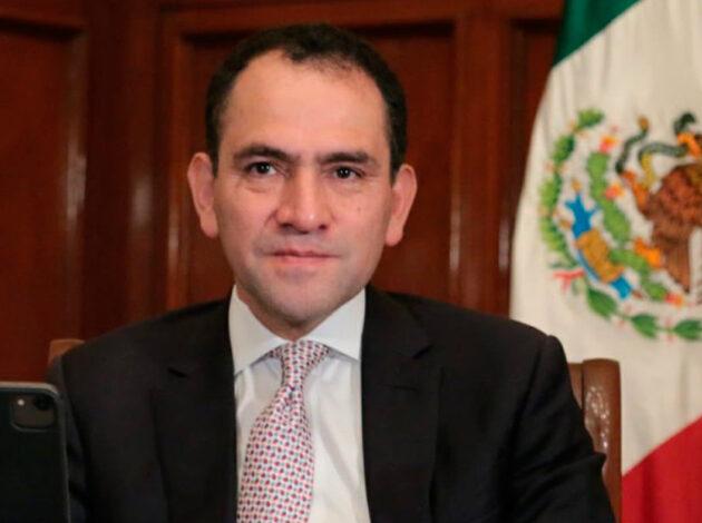 El secretario resaltó que, según cifras de la OIT, en México la tasa de ocupación de mujeres es de 44%, mientras que la de los hombres es de 76%