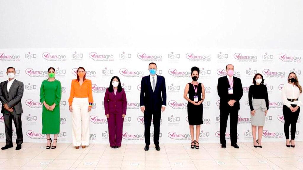<h1>Se lleva a cabo el primer debate de candidatos rumbo a la gobernatura por Querétaro</h1>