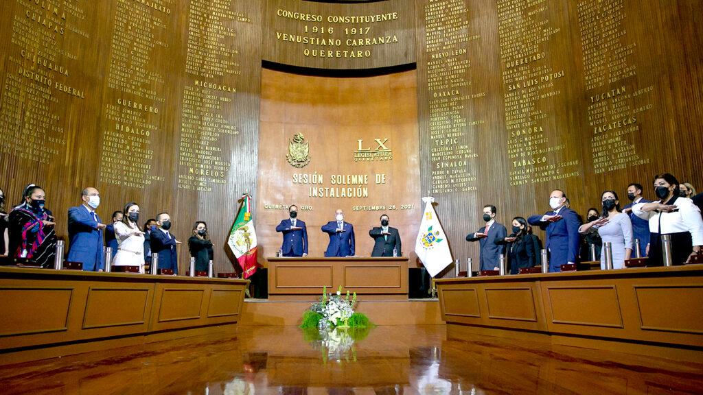 <h1>Rinde protesta la LX Legislatura en Querétaro</h1>