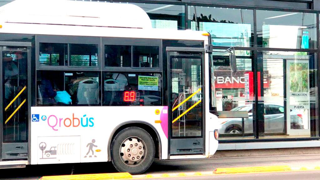 <h1>Informan del Pago preferencial para usuarios en el transporte público QroBus</h1>